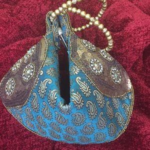 Handbags - Indian Beaded wedding purse